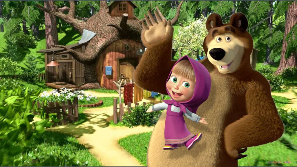 "Animated Series ""Masha And The Bear"" Will Be Shown in Great Britain and Ireland"