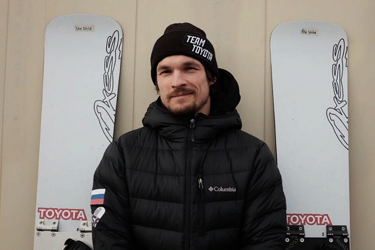 Vic Wild, an American snowboarder, is included in the Russian national team for the next season