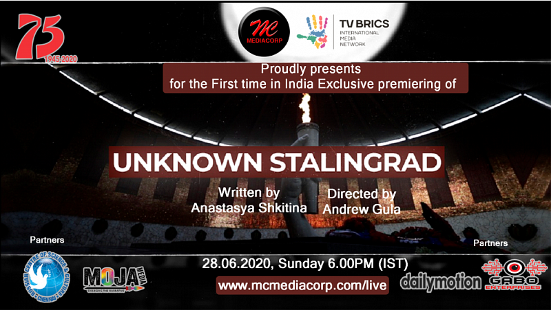 "TV BRICS documentary ""Unknown Stalingrad"" to be shown for the first time in India"